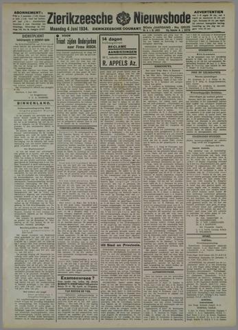 Zierikzeesche Nieuwsbode 1934-06-04