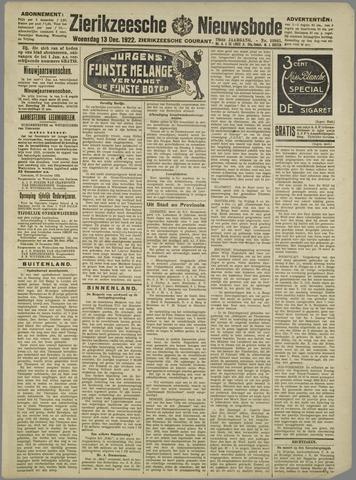 Zierikzeesche Nieuwsbode 1922-12-13