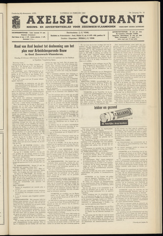 Axelsche Courant 1964-02-29