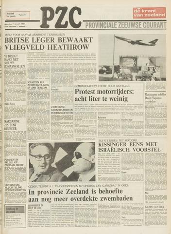Provinciale Zeeuwse Courant 1974-01-07