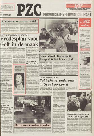 Provinciale Zeeuwse Courant 1987-06-22