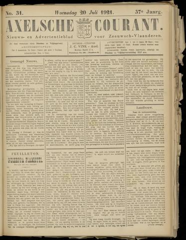 Axelsche Courant 1921-07-20