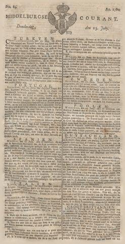 Middelburgsche Courant 1780-07-13