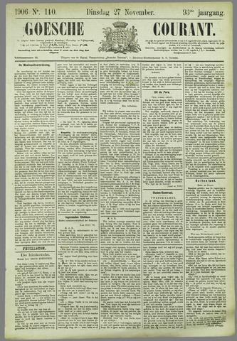 Goessche Courant 1906-11-27