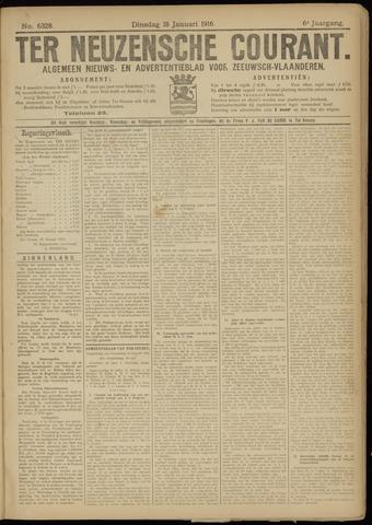 Ter Neuzensche Courant. Algemeen Nieuws- en Advertentieblad voor Zeeuwsch-Vlaanderen / Neuzensche Courant ... (idem) / (Algemeen) nieuws en advertentieblad voor Zeeuwsch-Vlaanderen 1916-01-18