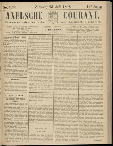 Axelsche Courant 1898-07-23