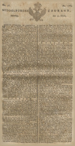 Middelburgsche Courant 1775-03-25