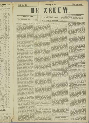 De Zeeuw. Christelijk-historisch nieuwsblad voor Zeeland 1891-07-18