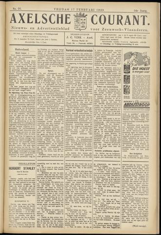 Axelsche Courant 1939-02-17