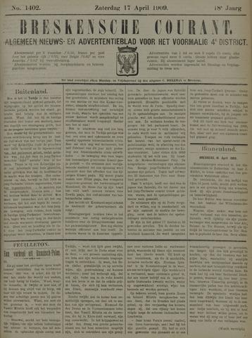 Breskensche Courant 1909-04-17