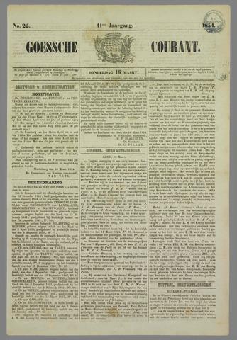 Goessche Courant 1854-03-16