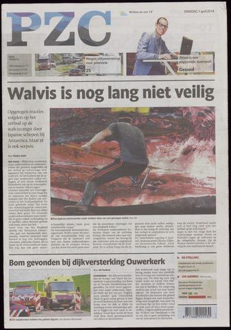 Provinciale Zeeuwse Courant 2014-04-01