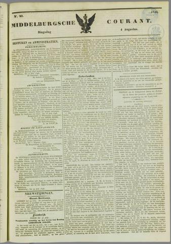 Middelburgsche Courant 1846-08-04
