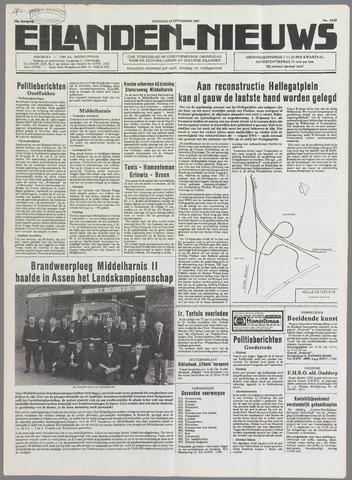 Eilanden-nieuws. Christelijk streekblad op gereformeerde grondslag 1985-09-10