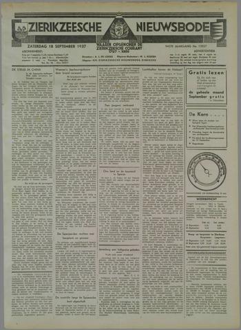 Zierikzeesche Nieuwsbode 1937-09-18