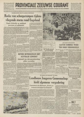 Provinciale Zeeuwse Courant 1954-11-29