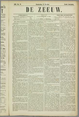 De Zeeuw. Christelijk-historisch nieuwsblad voor Zeeland 1891-10-22