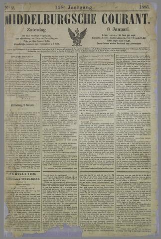 Middelburgsche Courant 1885