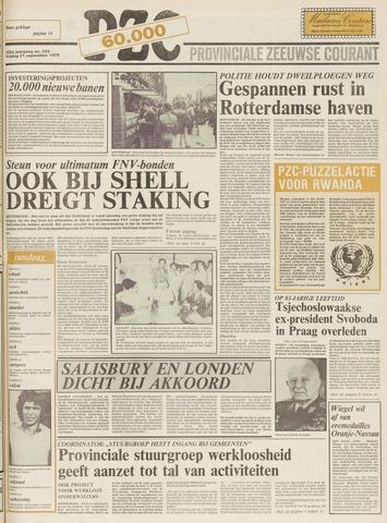 Provinciale Zeeuwse Courant 1979-09-21