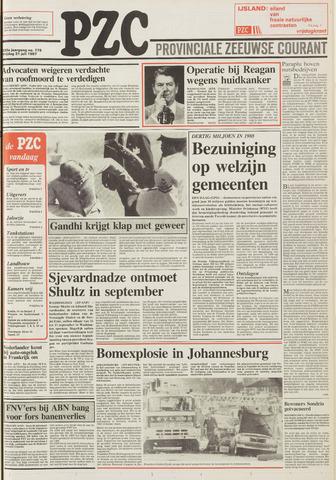 Provinciale Zeeuwse Courant 1987-07-31