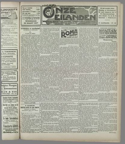 Onze Eilanden 1927-03-30