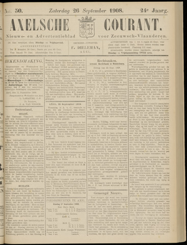 Axelsche Courant 1908-09-26