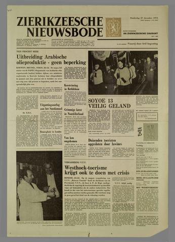Zierikzeesche Nieuwsbode 1973-12-27