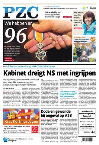 Provinciale Zeeuwse Courant 2016-04-27