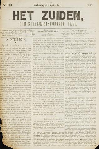 Het Zuiden, Christelijk-historisch blad 1877-09-08