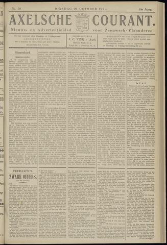 Axelsche Courant 1924-10-28