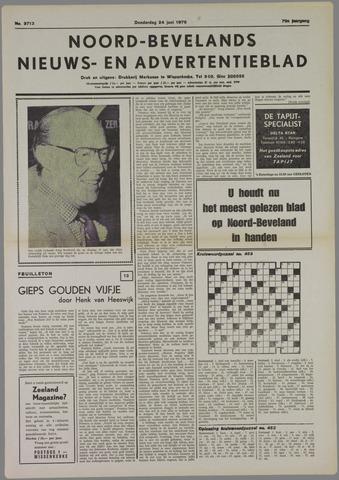 Noord-Bevelands Nieuws- en advertentieblad 1976-06-24