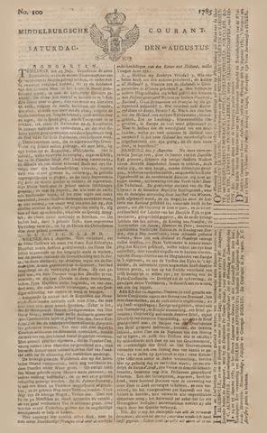Middelburgsche Courant 1785-08-20