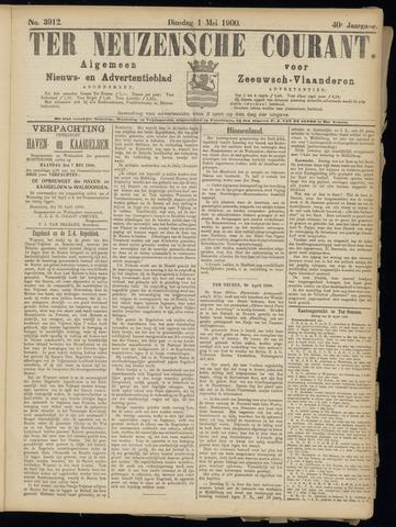 Ter Neuzensche Courant. Algemeen Nieuws- en Advertentieblad voor Zeeuwsch-Vlaanderen / Neuzensche Courant ... (idem) / (Algemeen) nieuws en advertentieblad voor Zeeuwsch-Vlaanderen 1900-05-01