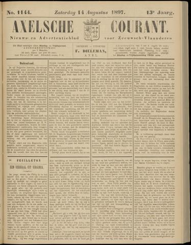 Axelsche Courant 1897-08-14