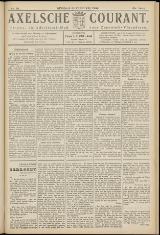 Axelsche Courant 1940-02-20