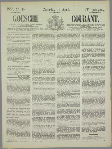 Goessche Courant 1887-04-16