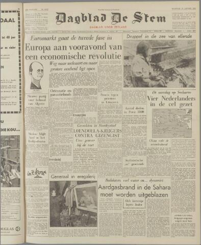 de Stem 1962-01-15