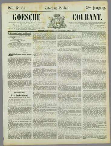Goessche Courant 1891-07-18