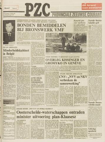 Provinciale Zeeuwse Courant 1974-04-25