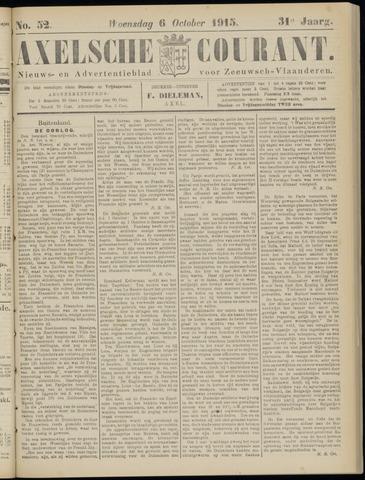 Axelsche Courant 1915-10-06