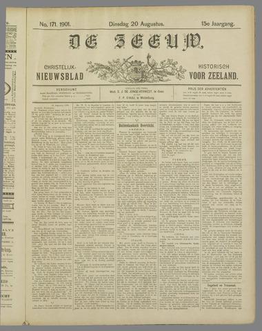 De Zeeuw. Christelijk-historisch nieuwsblad voor Zeeland 1901-08-20