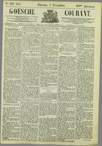 Goessche Courant 1913-11-04