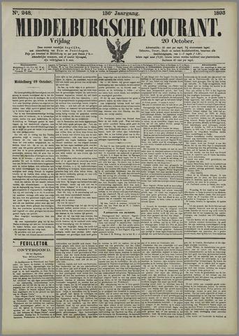 Middelburgsche Courant 1893-10-20