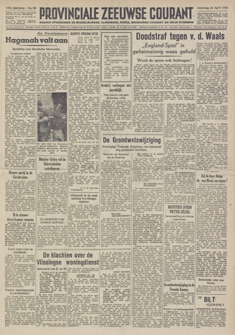 Provinciale Zeeuwse Courant 1948-04-24