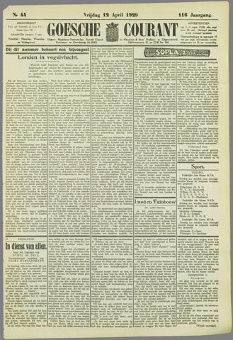 Goessche Courant 1929-04-12