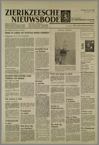 Zierikzeesche Nieuwsbode 1963-07-29