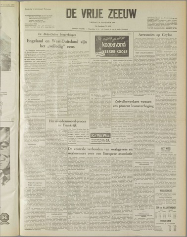 de Vrije Zeeuw 1959-11-20