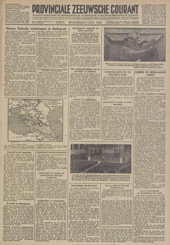 Provinciale Zeeuwse Courant 1942-10-07