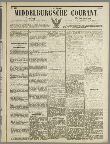 Middelburgsche Courant 1906-09-25