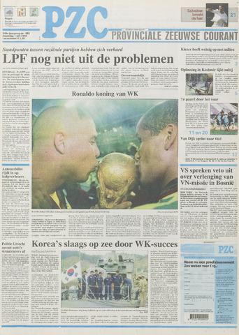 Provinciale Zeeuwse Courant 2002-07-01